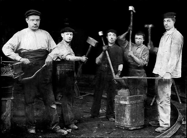 Les ouvriers